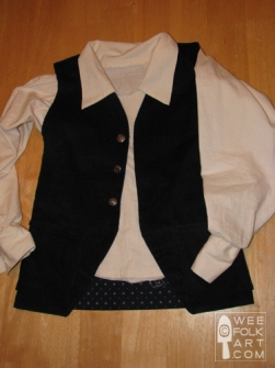 Tutorial Pirate Vest And Shirt Sewing