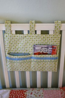 Tutorial Crib Toy And Book Organizer Sewing