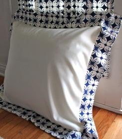 Tutorial Euro Sham Pillow Cover Sewing