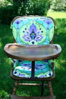 Great Ideas for a Homemade Fabric High Chair Pattern