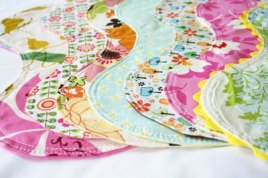 Burp Cloth Tutorial | AllFreeSewing.com - All Free Sewing - Free