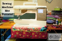 Tutorial Sewing Machine Mat And Tool Caddy Sewing