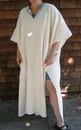 Tutorial Long Towel Poncho Cover Up Sewing