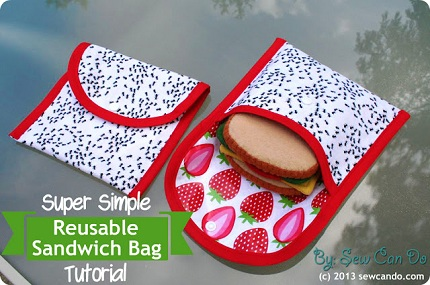 Super Simple Reusable Sandwich Bag