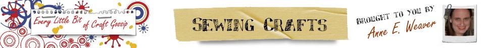 Sewing @ CraftGossip.com Header
